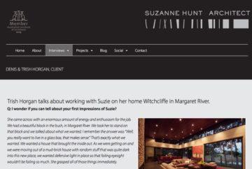 Suzanne Hunt Architect Web Interview