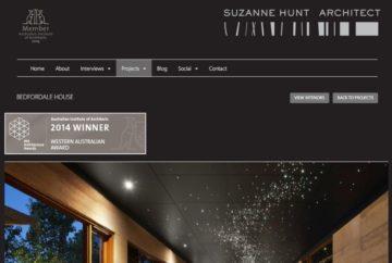 Suzanne Hunt Architect Web Project Profile