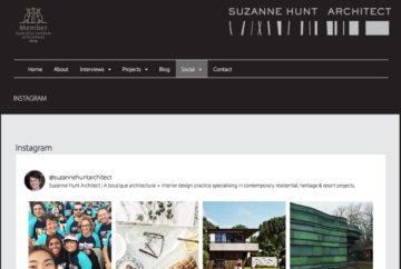 Suzanne Hunt Architect Web Social