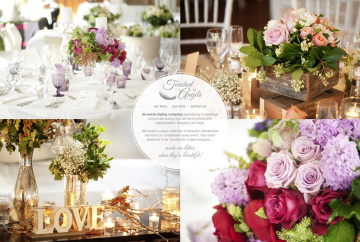 Touched By Angels Wedding & Event Stylist Website Home