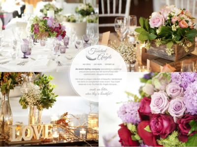 Touched By Angels Weddings & Event Styling Website Home