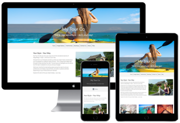 Tour Operator Websites