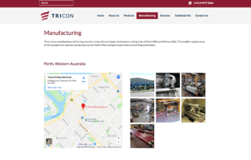 Tricon Manufacturing Preview
