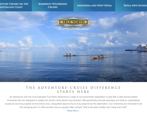 Using a Website to Sell an Experience