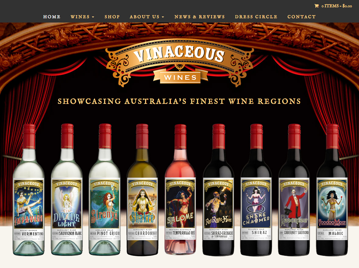 Winery Websites