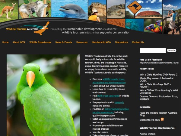 Tourism Association Websites