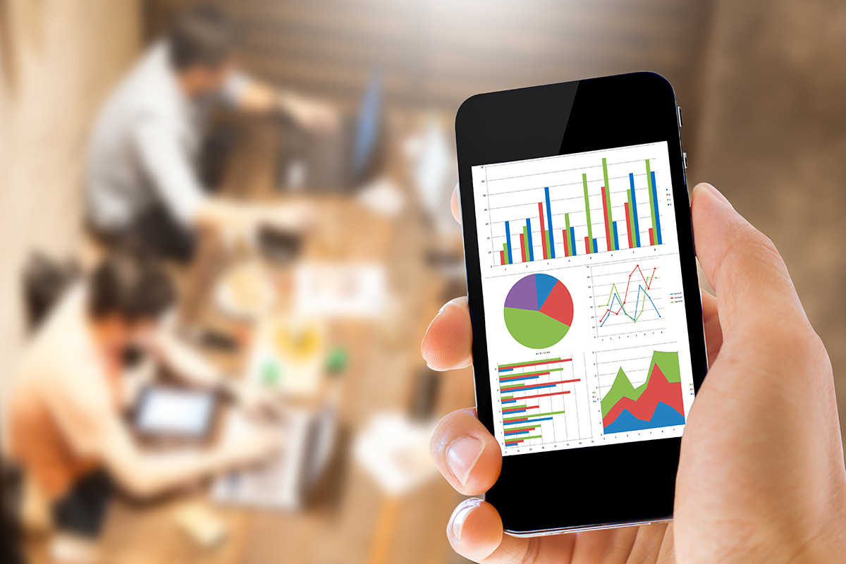 eCommerce Analytics on Mobile Phone