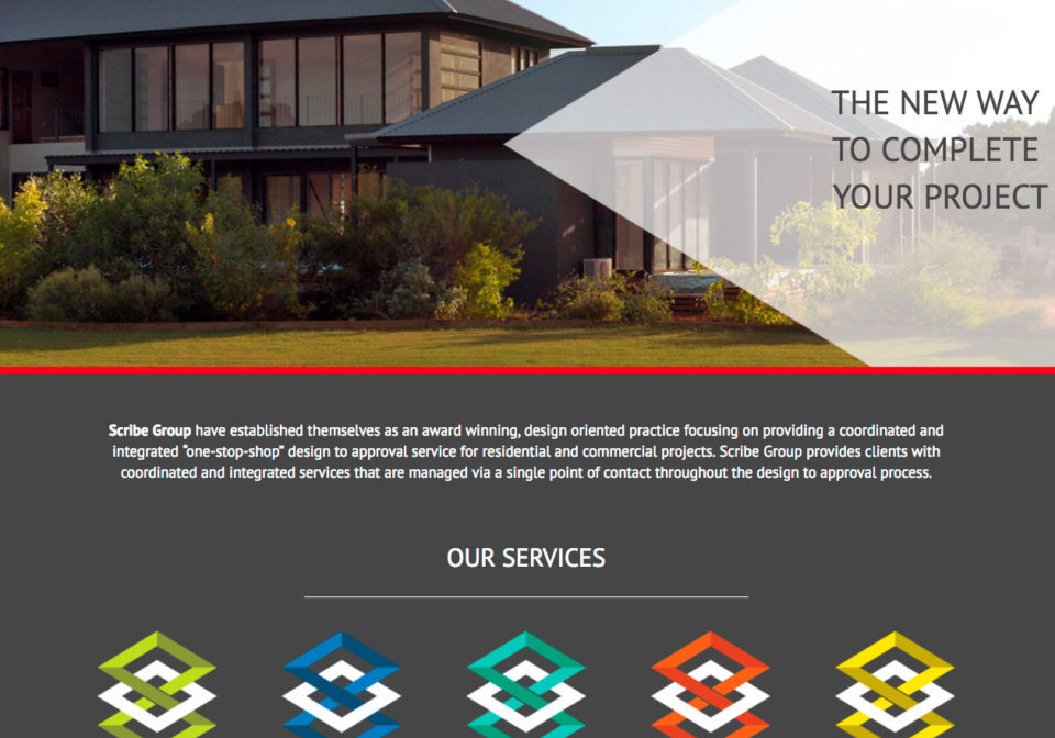 Scribe Group Home Page