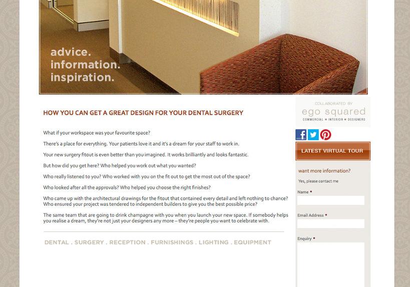 Surgery Interior Design Website Home
