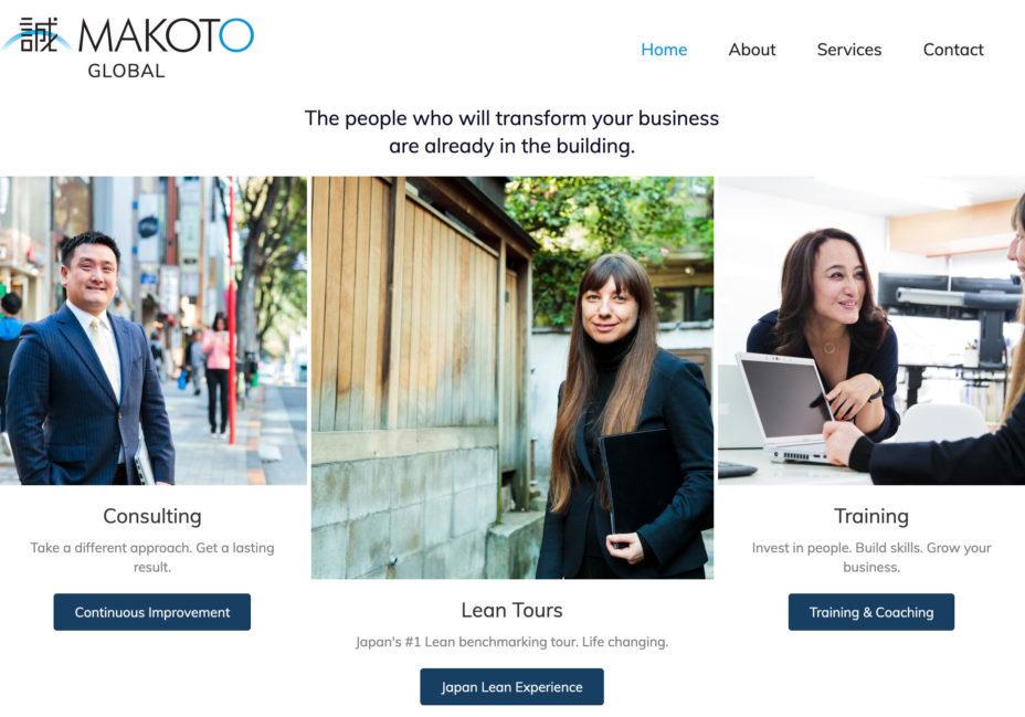 Makoto Global Home Page