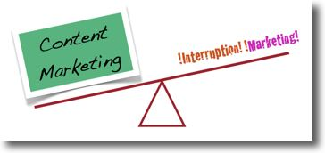 Content Marketing vs Interruption Marketing