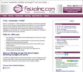 FalkoInc - Strategic Search Engine Marketing