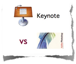 Mac OS X Keynote vs Photoshop