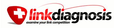 LinkDiagnosis for Link Building