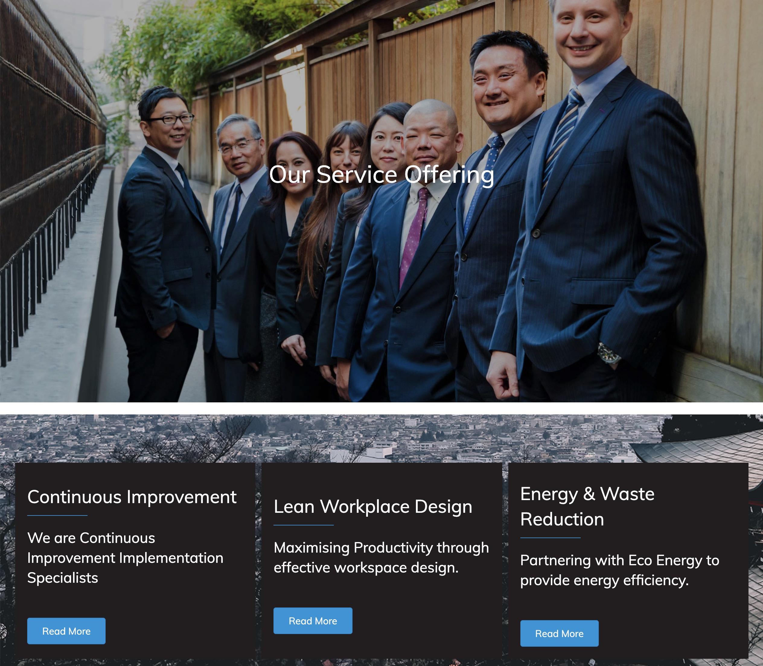 Makoto Services Page