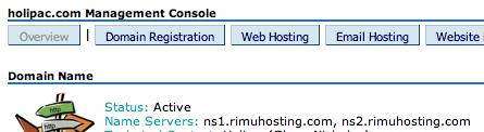 Managing Domains