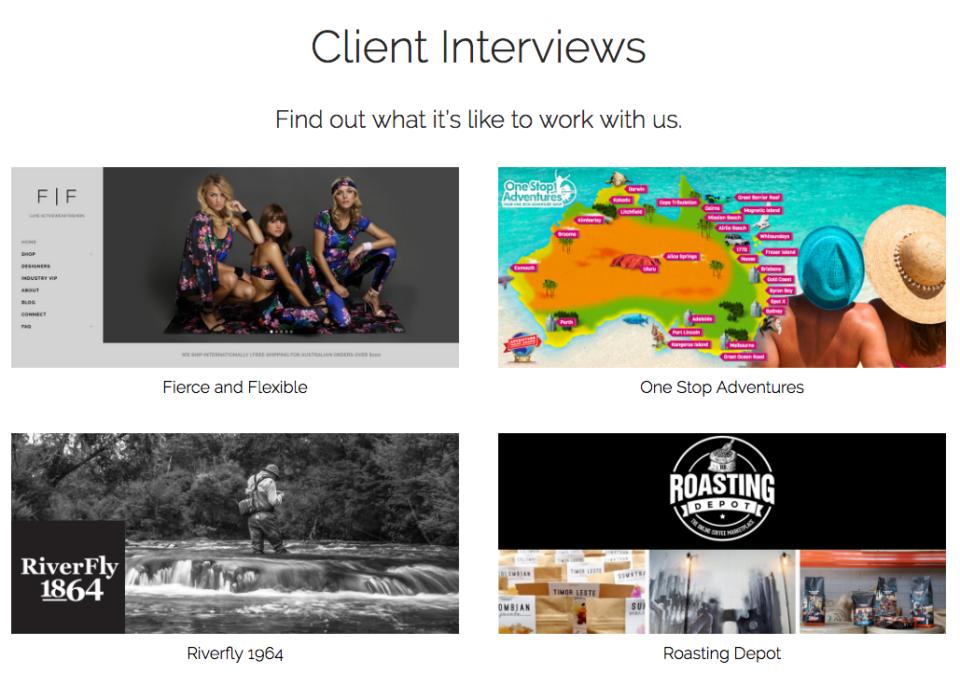 OM4 Client Interviews Screenshot