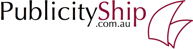 PublicityShip Logo - Publicity and Public Relations for Small Business