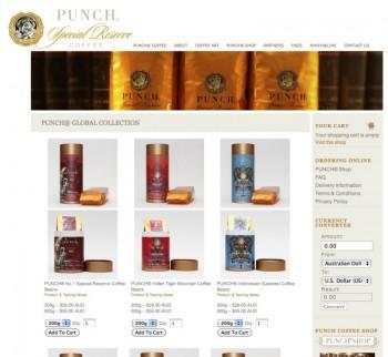 Punch Coffee: Gourmet Coffee Online