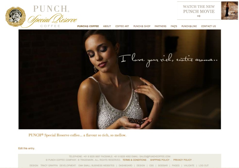 Punch Coffee Online