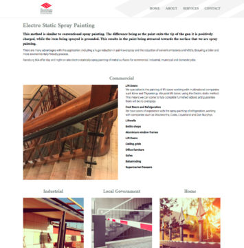 Ransburg Electro Static Painters WA - Services Page
